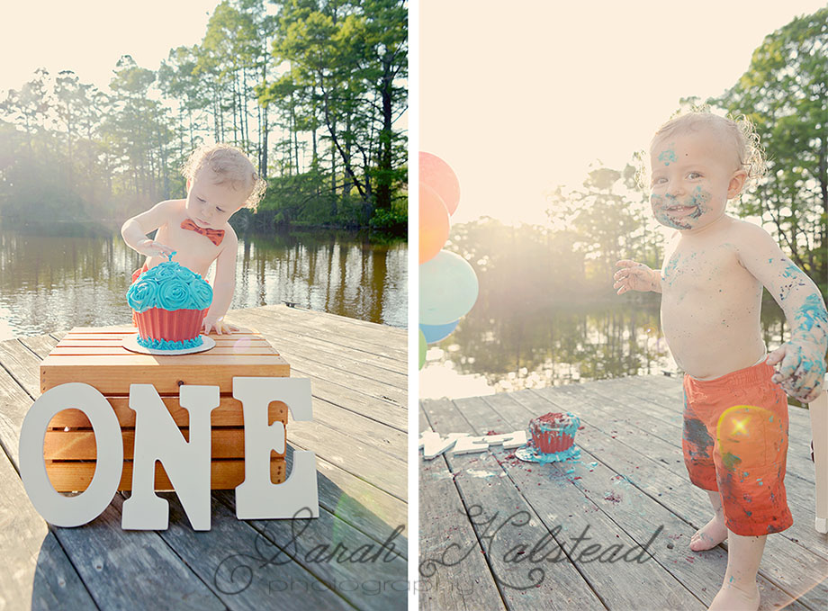 Virginia Beach Cake Smash Photographer