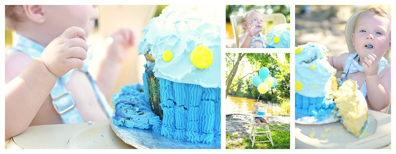 Virginia Beach Cake Smash Photographer | Matt