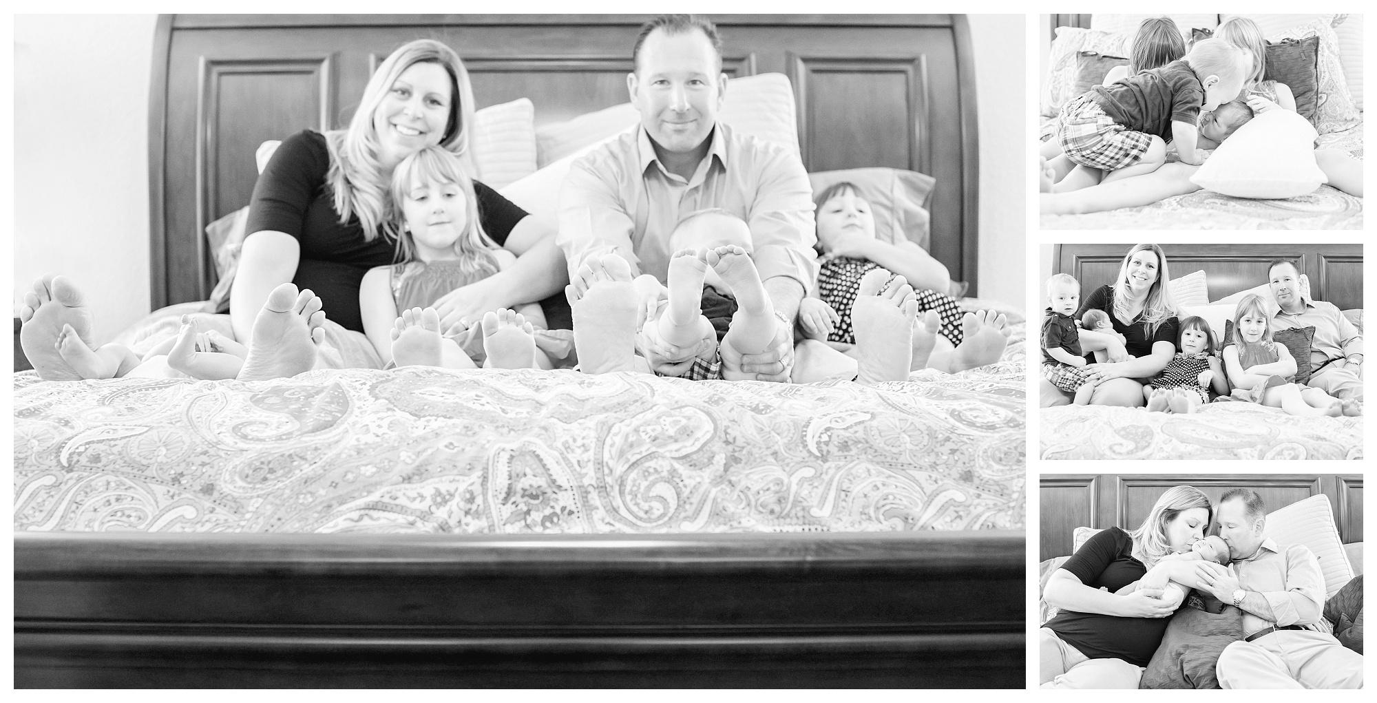 Chesapeake Newborn Photographer | The M Family