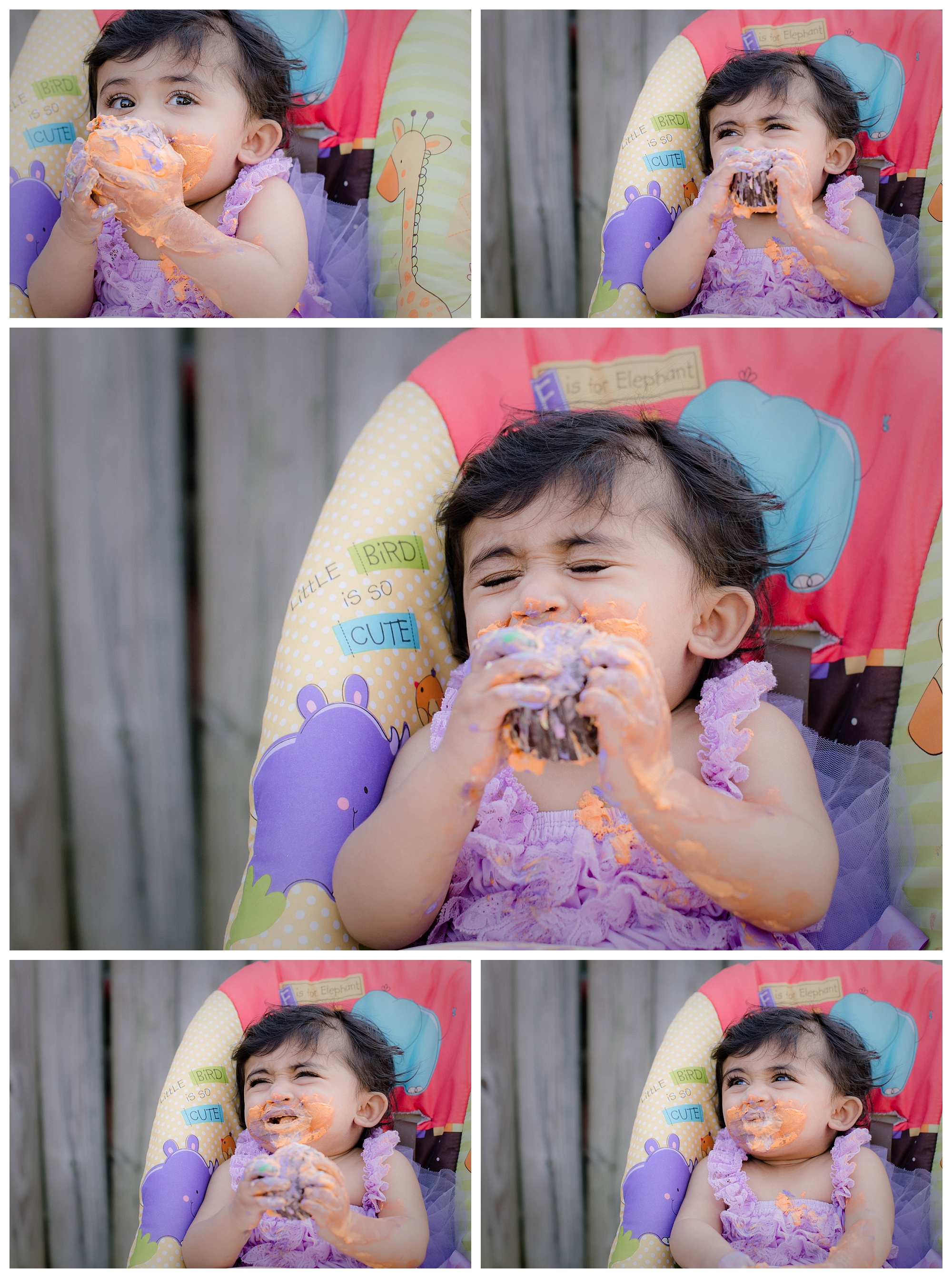 Chesapeake Cake Smash Photographer | Muski
